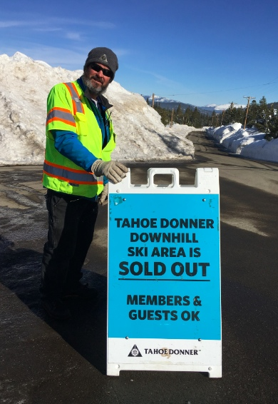 Tahoe Donner Ski Area Sold Out